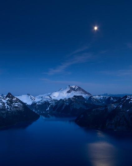 Moonrise Over Garibaldi
