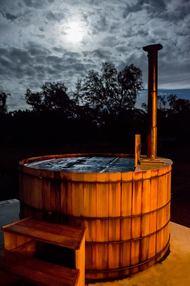 Lolia's Wood Fired Hot Tub