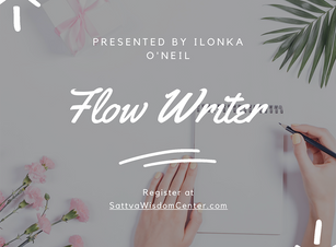 Flow Writer Drop In – Express Yourself Through Movement and Writing!