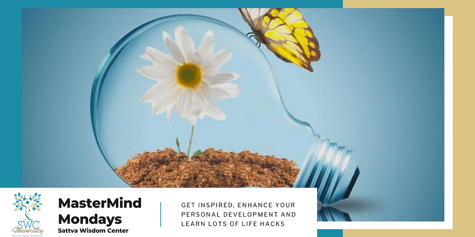 MasterMind Mondays – Coping Through COVID and Beyond–Stress and Anxiety Management In These Uncertain Times