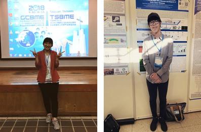 恭喜何姵儀&陳重佑於GCBME 2018獲獎
