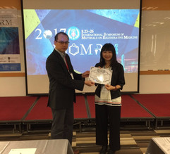 """Congrats our member for winning the 2017 ISOMRM """"Excellent Poster Presentation"""""""