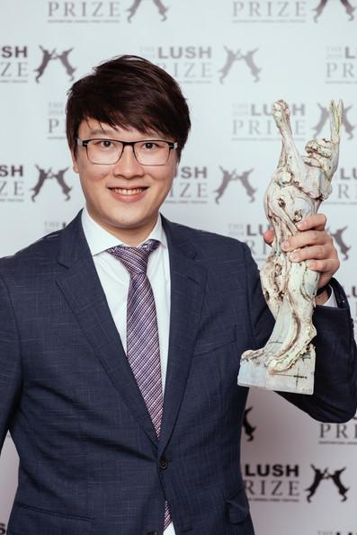 榮獲 Lush Prize 亞洲區青年學者獎