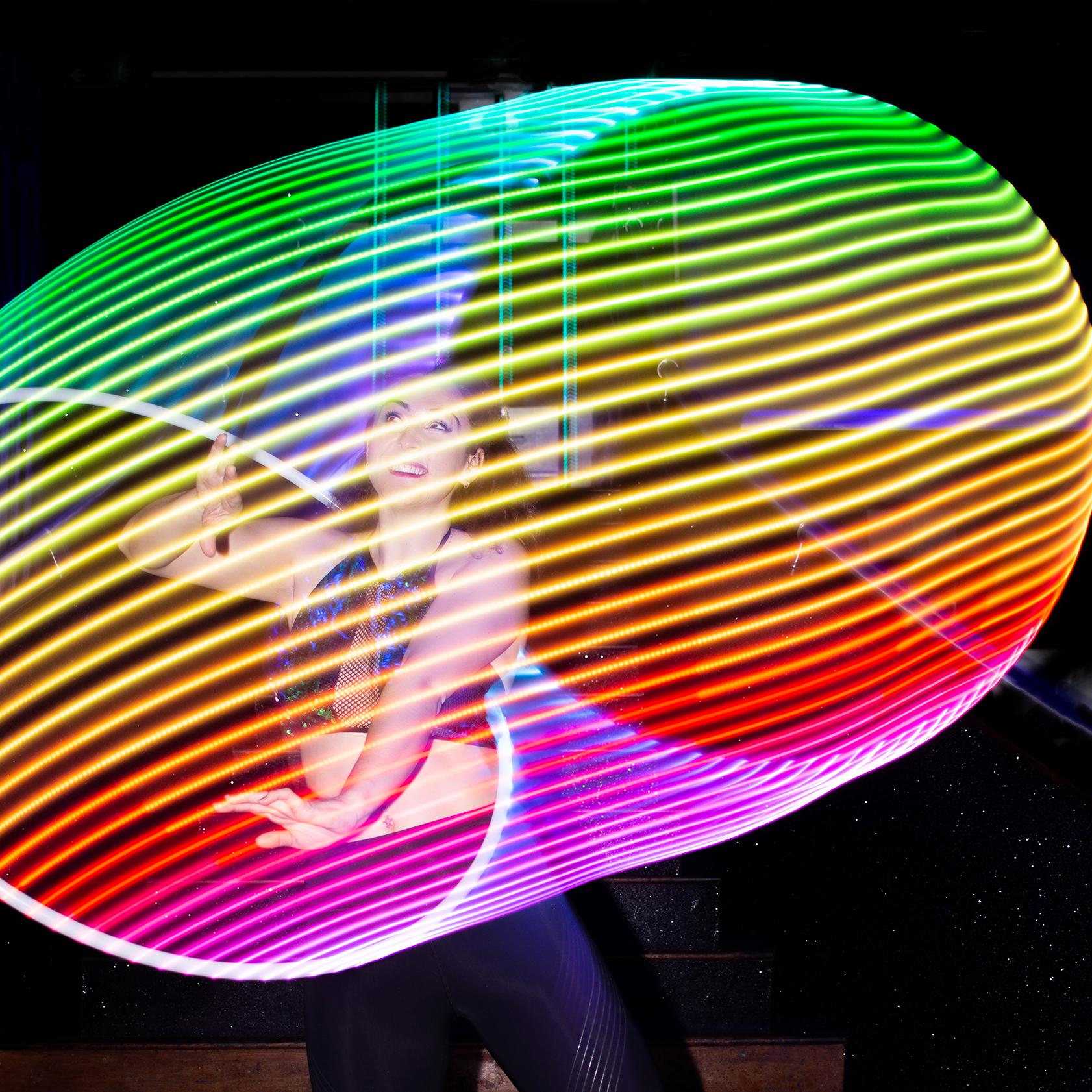 LED HOOP ARTIST