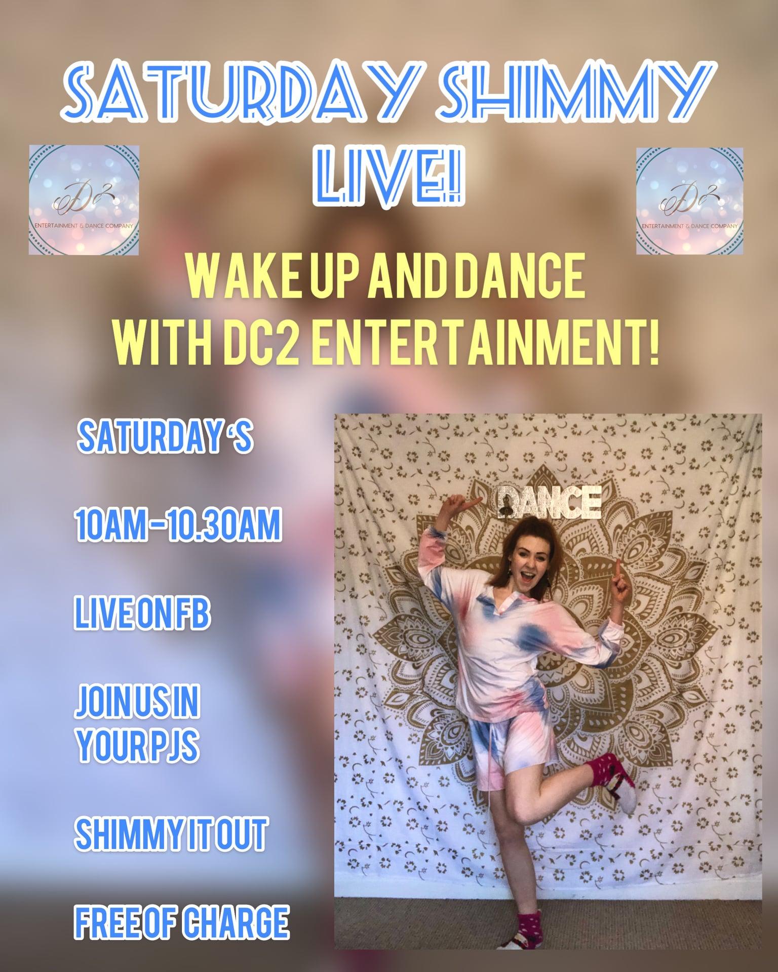 Saturday Shimmy live