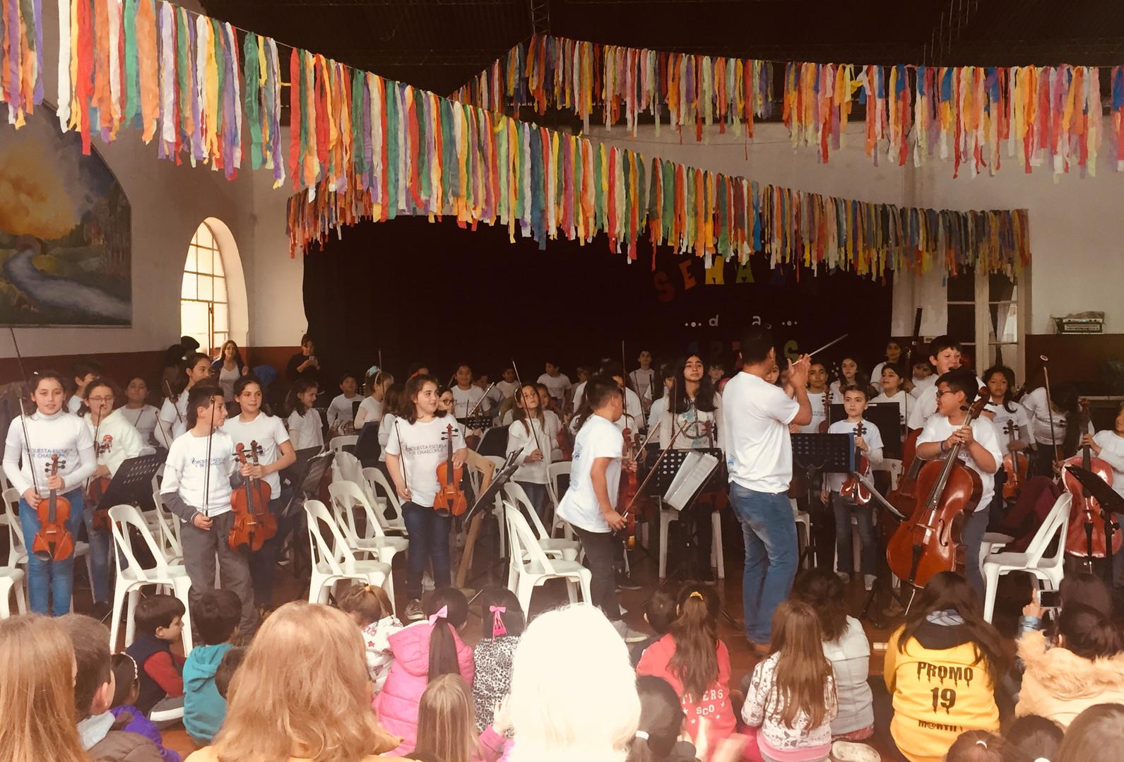 Orquesta Gianneo en Pila