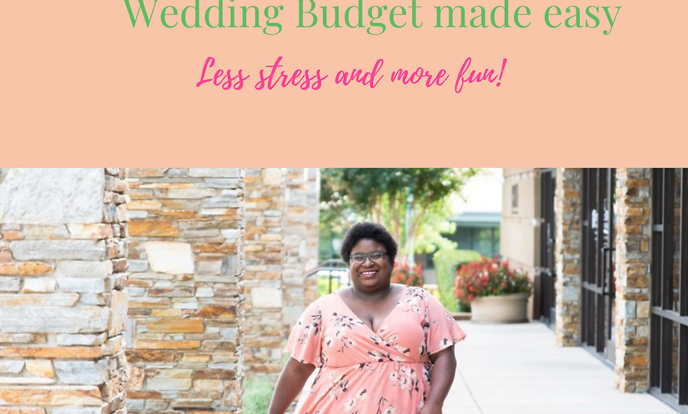 The Ultimate Wedding Planning Budget Template