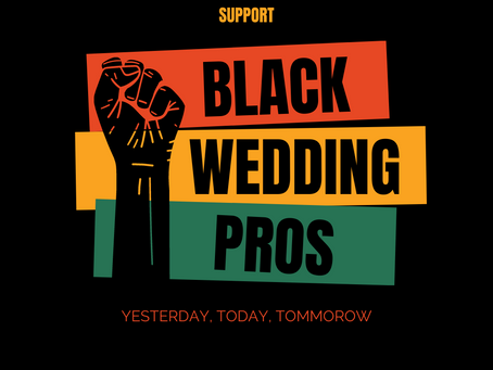 Black Wedding Pros to Look Out For