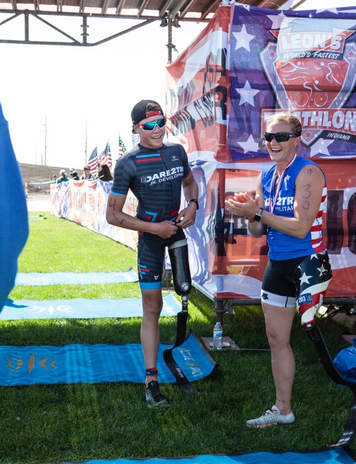 Disabled Youth Finds Future in Sport of Triathlon