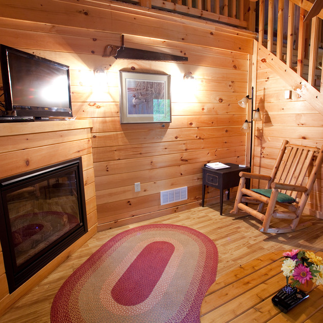 Cabin 3, 4 and 5 Living Area