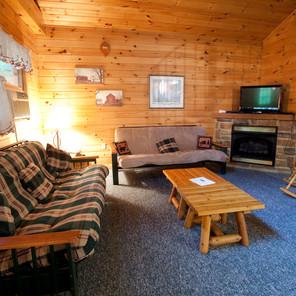 Cabin 1 & 2 Living Room