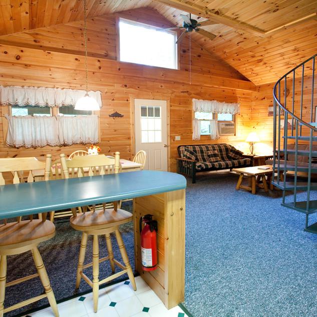 Cabin 1 & 2 Kitchen Bar