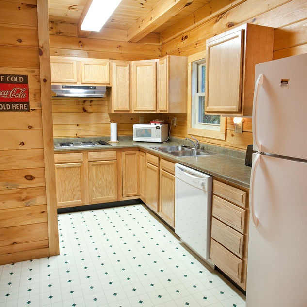 Cabin 3, 4 and 5 Kitchen