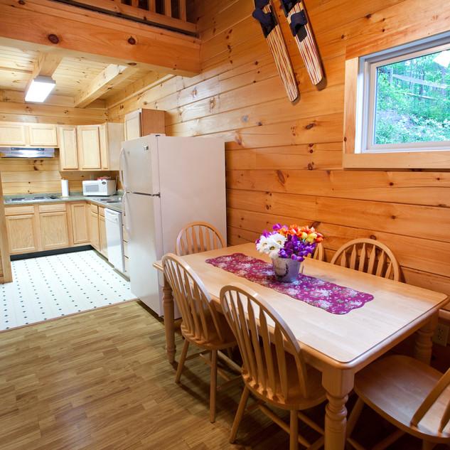 Cabin 3, 4 and 5 Kitchen Nook
