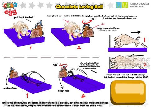 chocolate loving bull