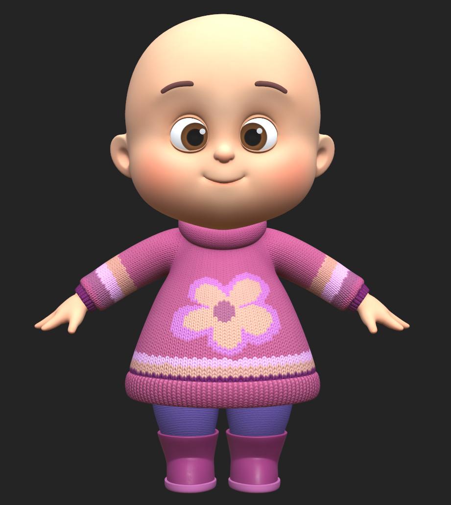 TazeDirekt - Little Girl