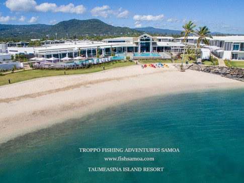 FANTASTIC ACCOMMODATION RATES FOR OUR ANGLERS STAYING AT TAUMEASINA ISLAND RESORT