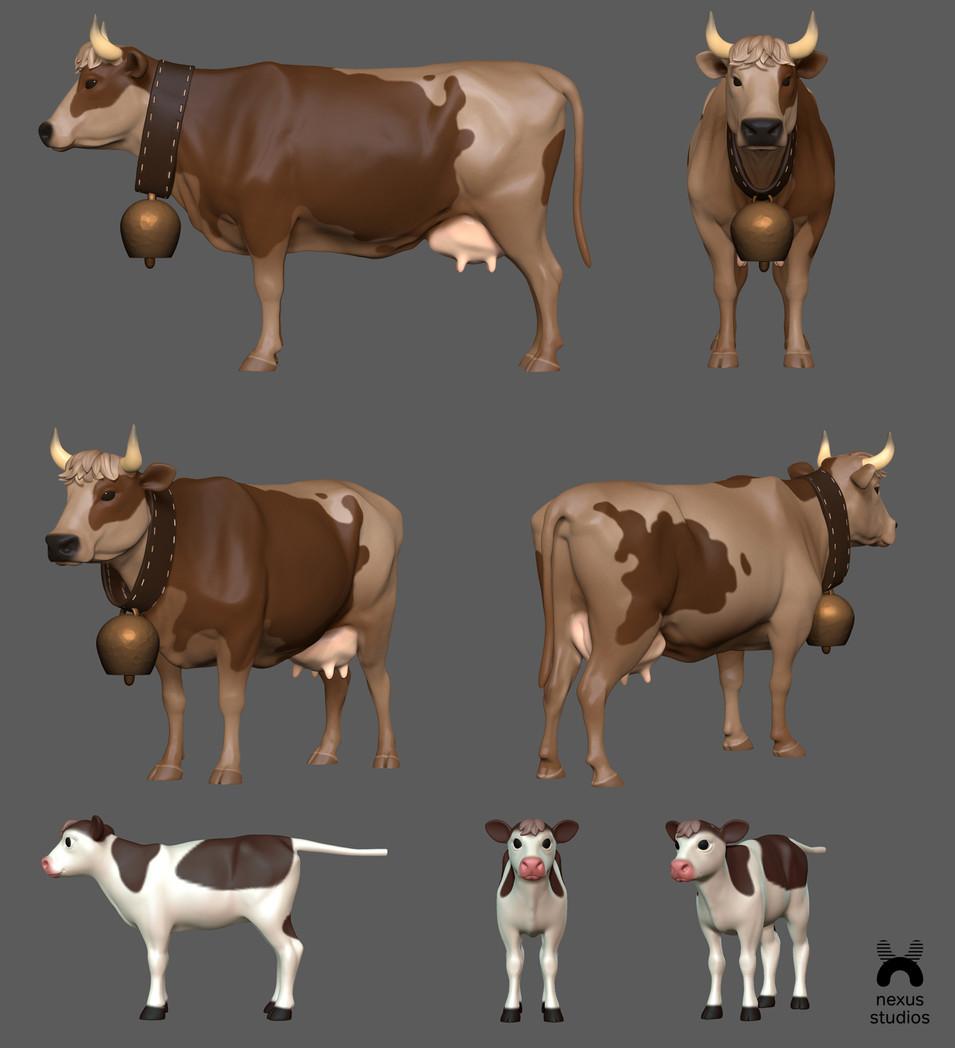 Milka Goodness Cow