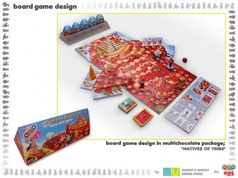 'tribe of natives' boardgame