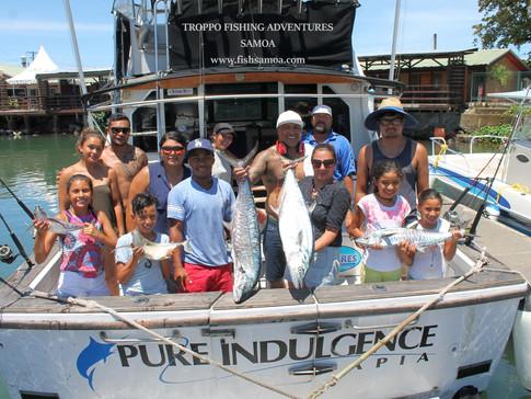 FUN FISHIN IN SAMOA