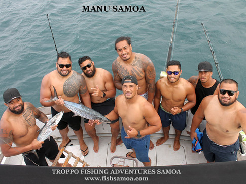 Manu Samoa In Training With Team Troppo