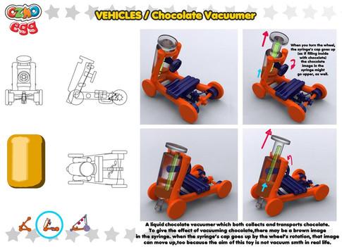chocolate vacuumer