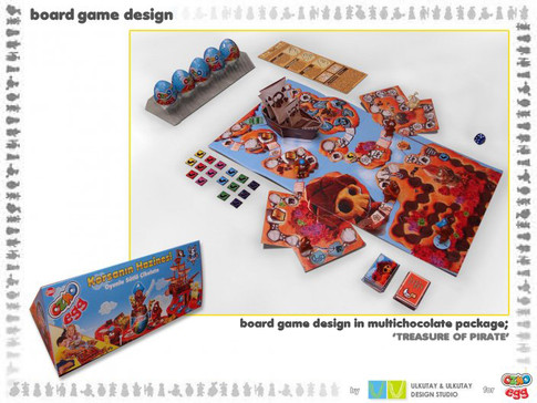 'treasure of pirate' boardgame