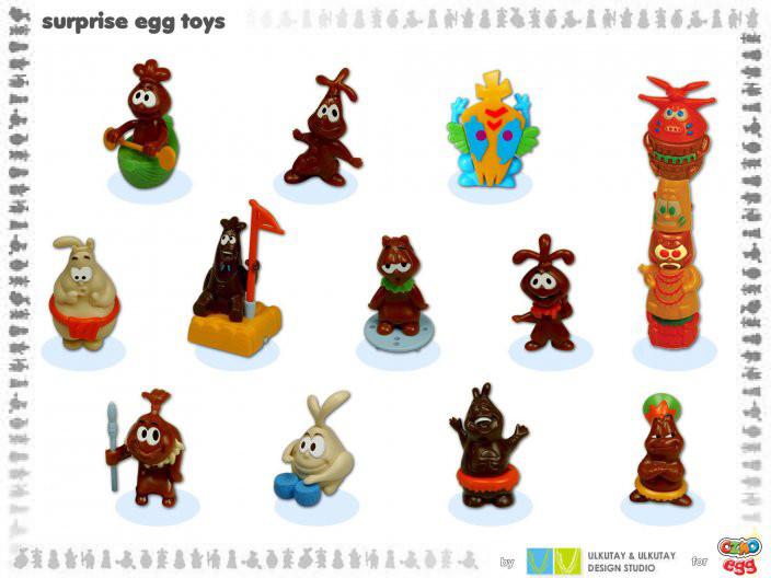 'chocolate native' surprise toys
