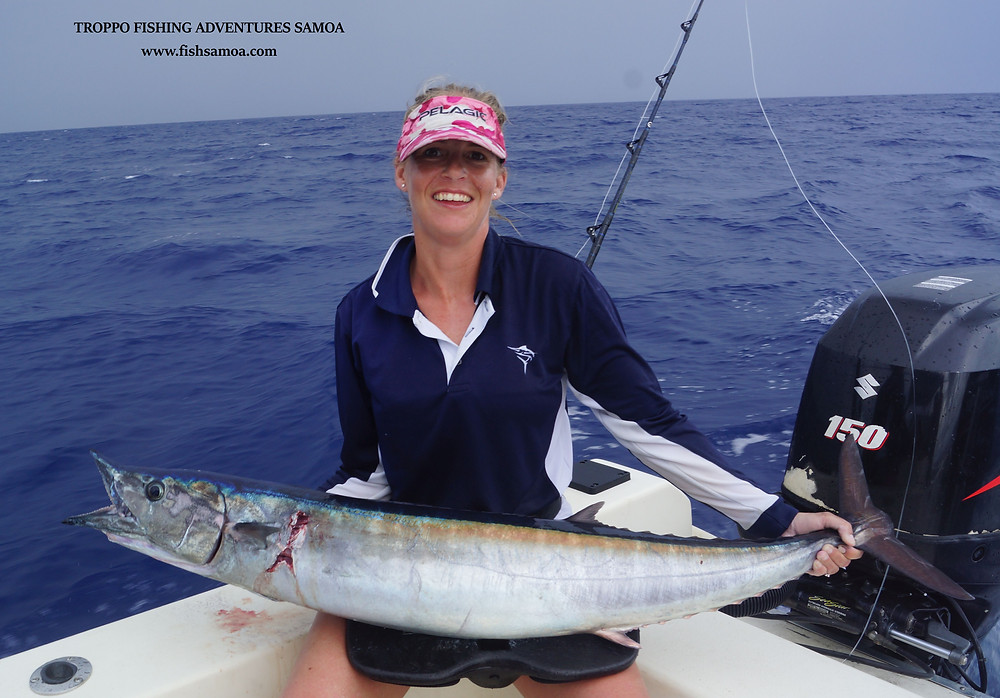 and the wahoo kept coming