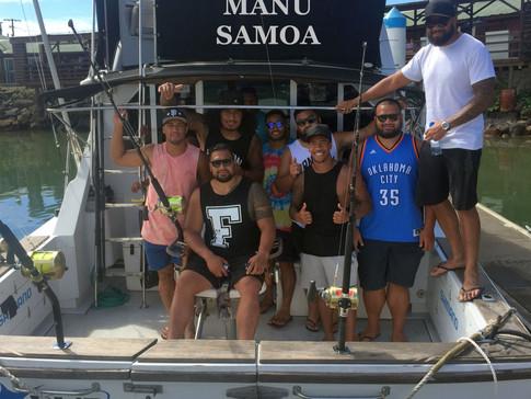 Big Win For Manu Samoa