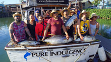Samoan Kiwis Have a Big Day Catching Yellowfin