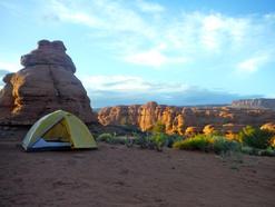 Campsite near Canyonlands, Moab UT 5.15.16