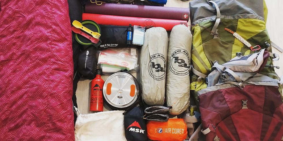 Backpacking Basics Series + Overnight Trek