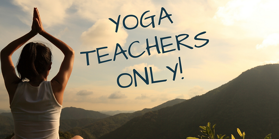Yoga Teacher Trek