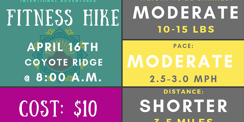 Fitness Hike- Coyote Ridge