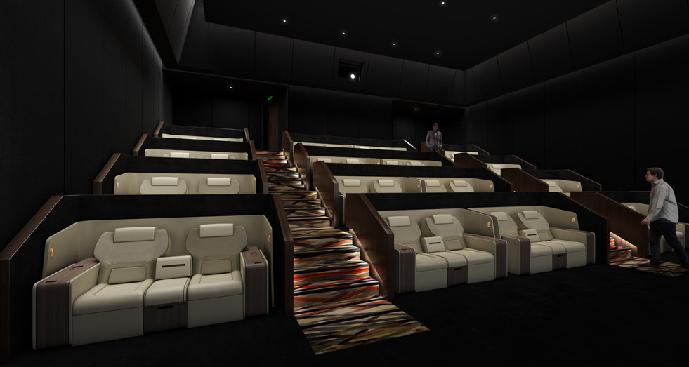 VIP Cinema Screen