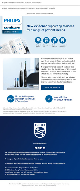 Philips Clinical Studies Email