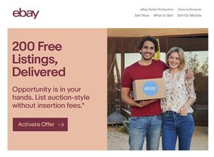 eBay Seller Promo Email