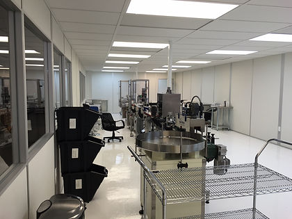 Aluminum extruded cleanroom, Fremont CA, Outsource manufacturer