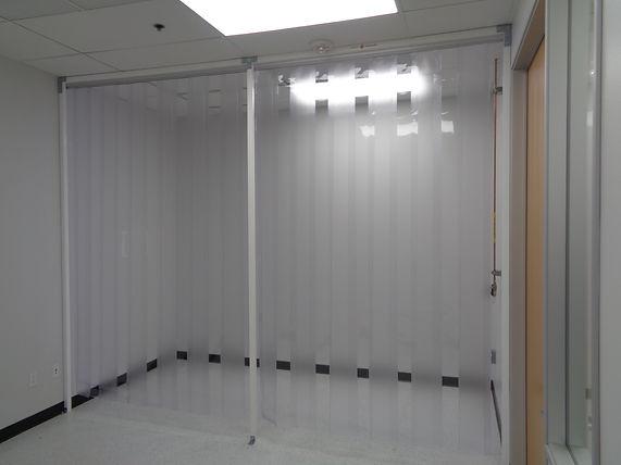 Strip curtain room conversion, Petaluma CA, Electronics