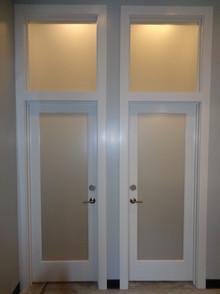 Internal Door Frosting The Tint Guys