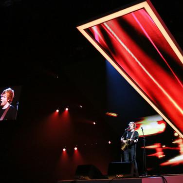 Ed Sheeran at the Brit Awards 2015