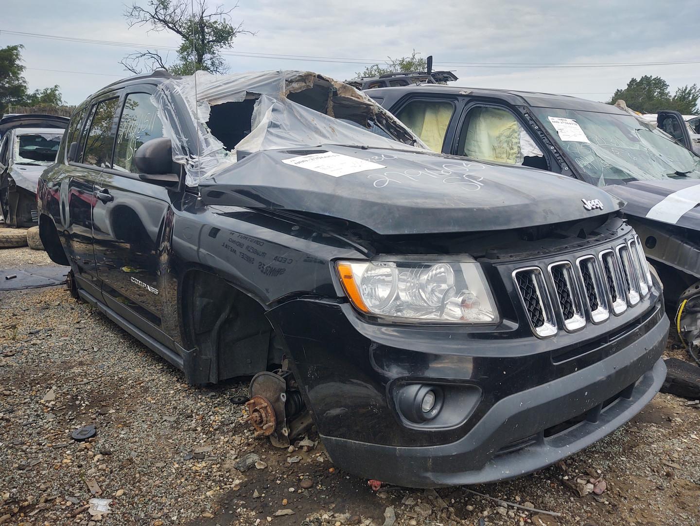 2012 Black Jeep Compass
