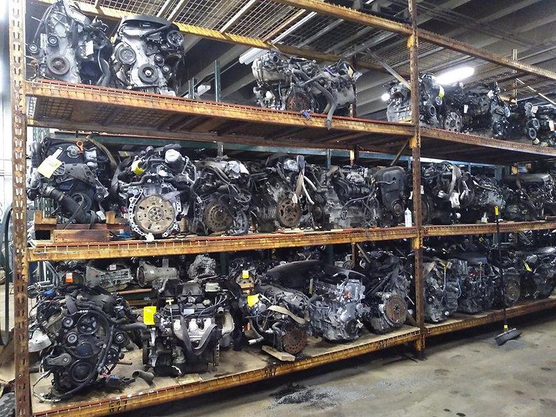 Used Engine Rack