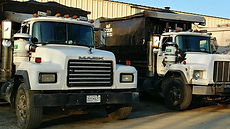 Front End Trash Trucks commercial and residential