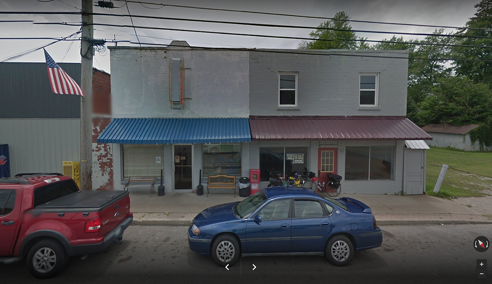 Google maps view of the Diner