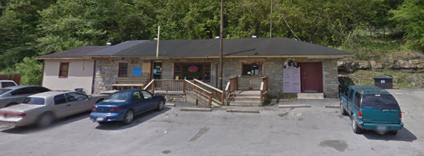 Street view of the restaurant. Doesn't even show on a map.