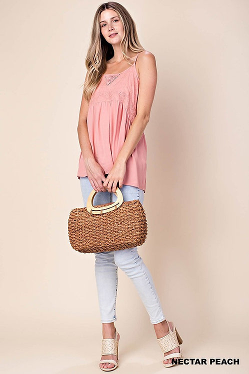 BABY DOLL STYLE WITH LACE TANK TOP