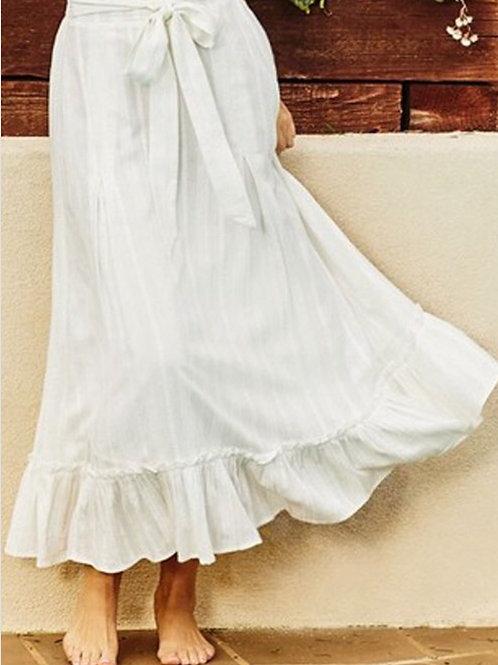 Midi skirt 100% cotton