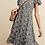 Thumbnail: Leopard rayon crepe dress